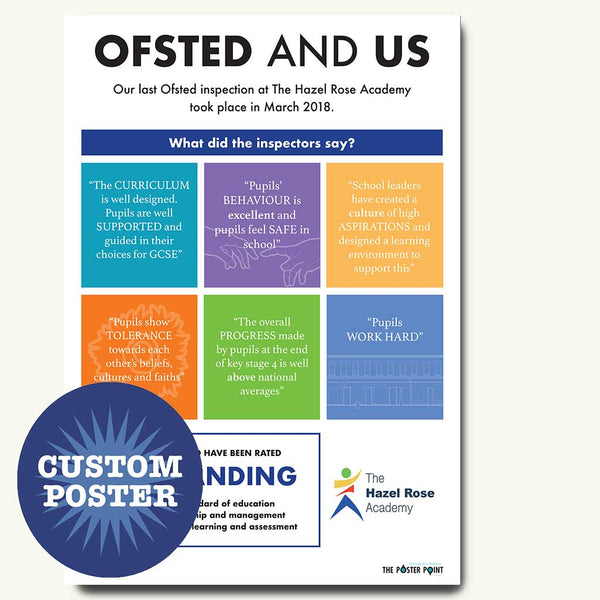 Ofsted parents' poster