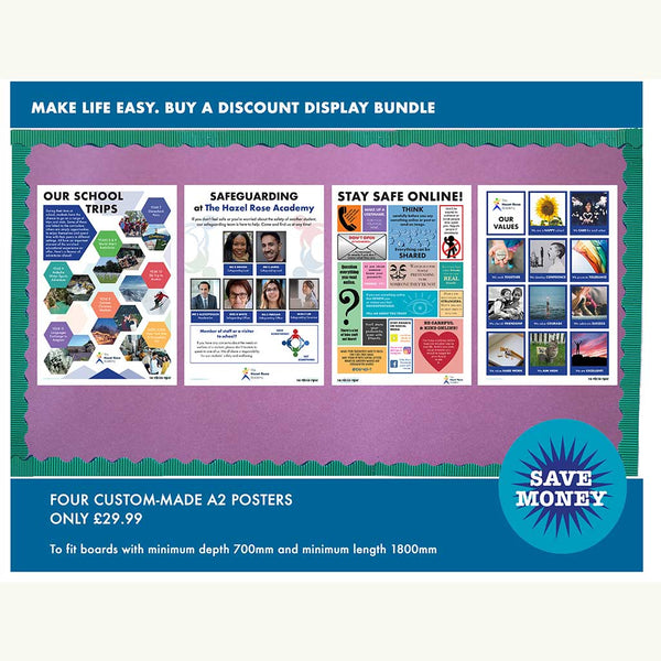 School information poster bundle