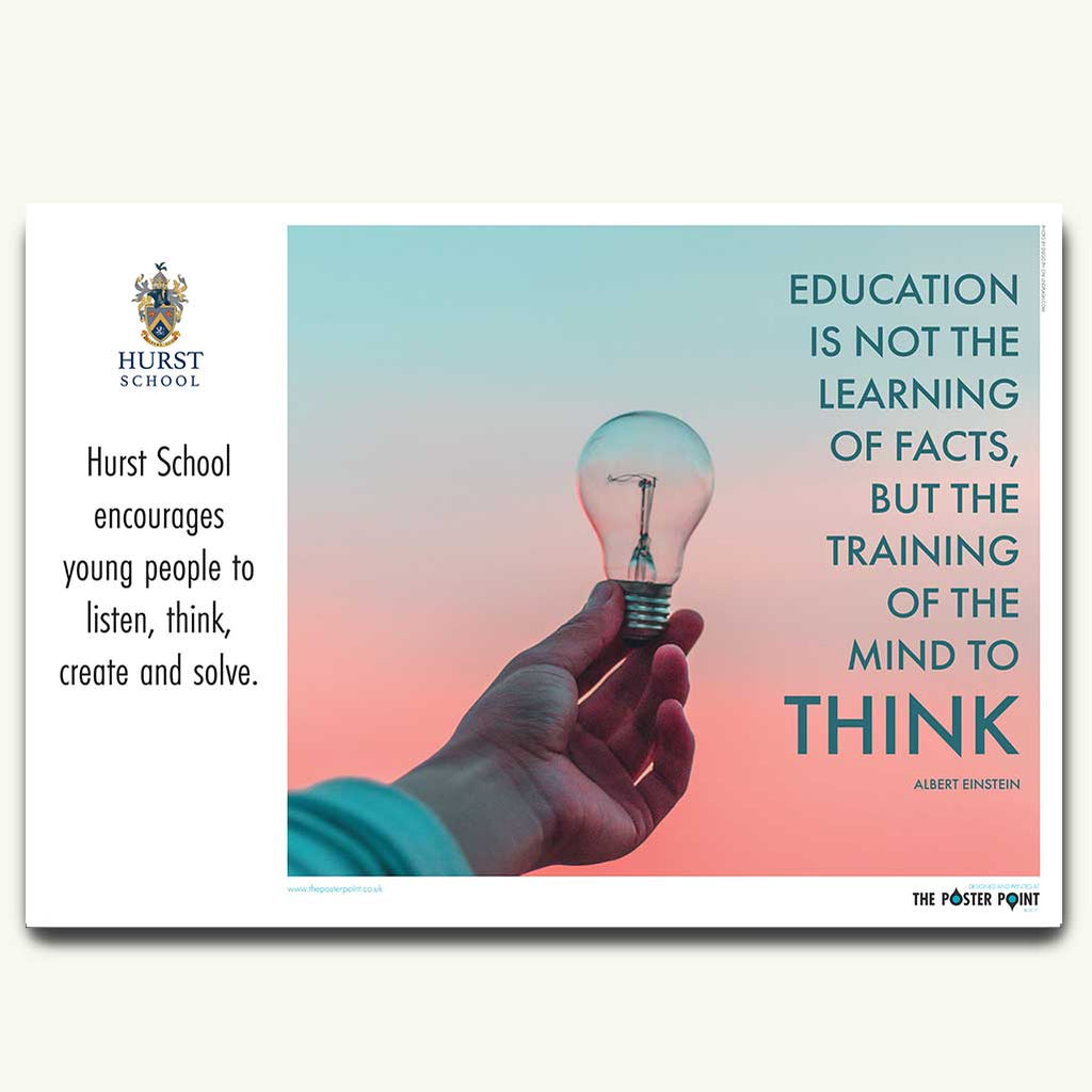 Thoughtfulness quote poster