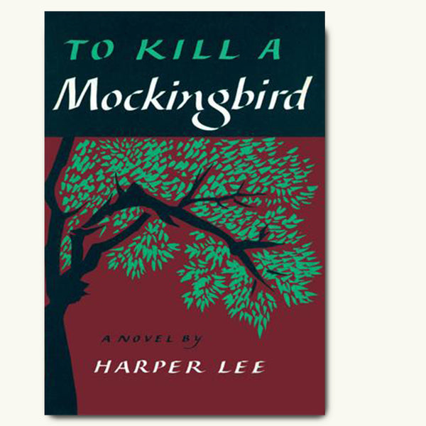 To Kill a Mockingbird vintage book cover poster
