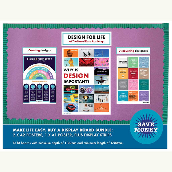 Design for life discount display board