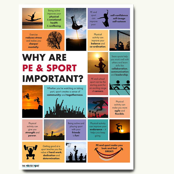 Why is PE important poster