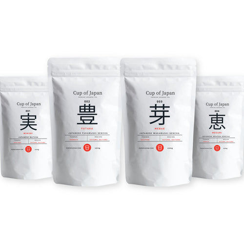 Sayama Tea Collection – 4 PACK