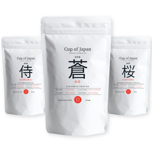 Shizuoka Tea Collection – 3 PACK