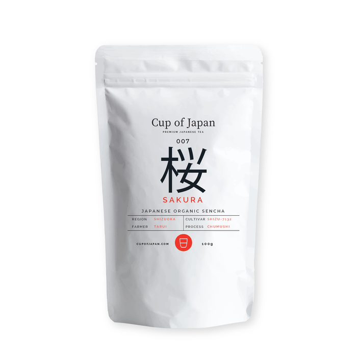007 SAKURA 桜, Fruity & Organic Tea