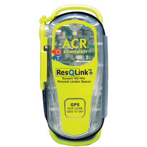 ACR ResQLink+ 406 MHz GPS PLB Floats w-o Pouch - *Case of 4*