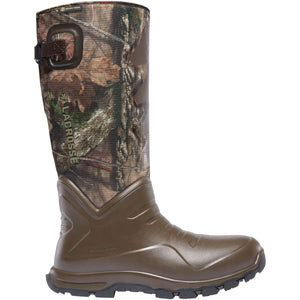 "LaCrosse AeroHead Sport Snake Boot 16"" Mossy Oak Break-Up Country Camo Size 13"