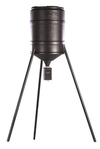 On Time Tomahawk Wildlife Game Feeder Tripod -Barrel