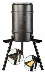 On Time Wildlife Buckeye Gravity Game Feeder 200 lb Tripod 71540