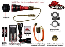 50LRX Gun hunters pkg. with 1 color