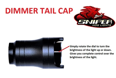 Dimmer Tail Cap