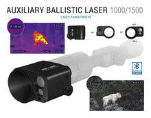 ATN 1,500 yard Auxiliary Ballistic Laser Rangefinder for Smart HD Scopes