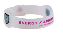 Sparkle Negative Ion Superband with Purple Letters