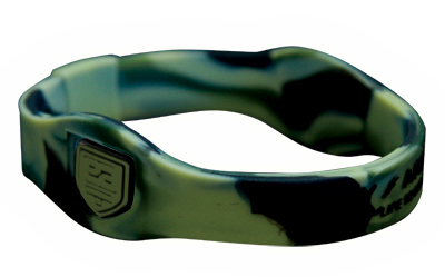 Superband Camo Negative Ion Wristband with Black Letters
