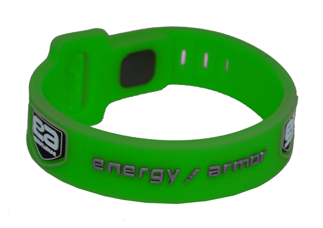 Lime Green Adjustable Evolution Bracelet with FIR Technology