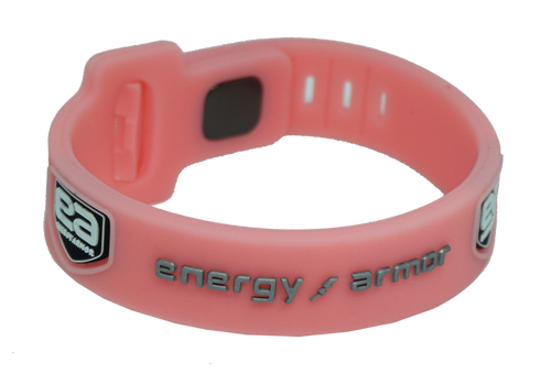 Pink  Adjustable Evolution Bracelet with FIR Technology