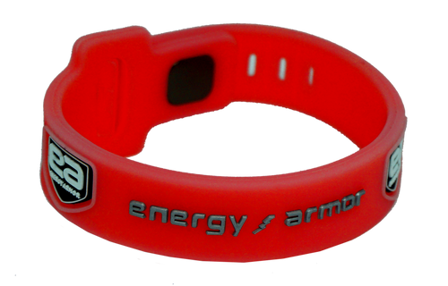 Red Adjustable Evolution Bracelet with FIR Technology