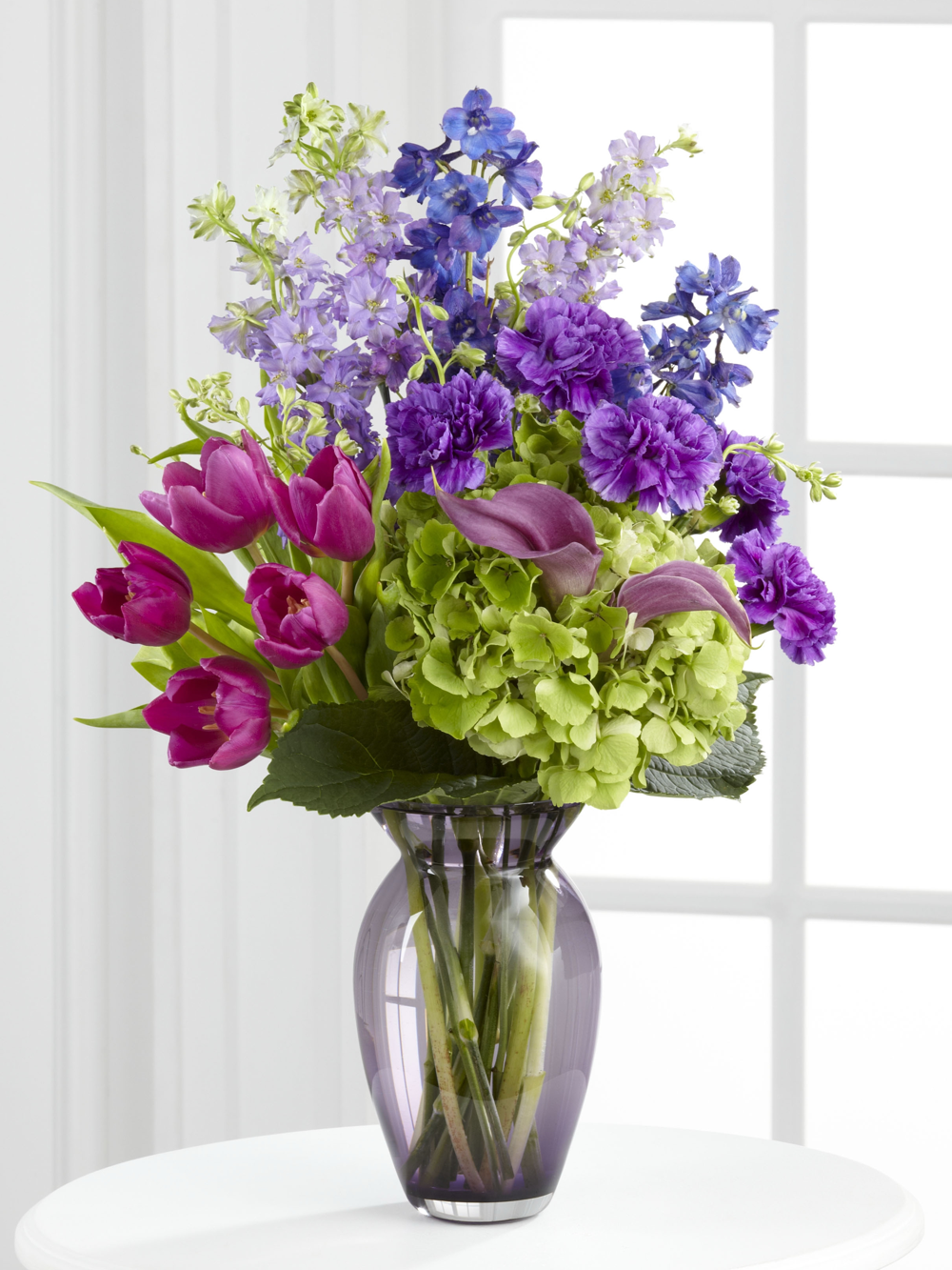 Spring Flowers In Vase Cardinal Funeral Homes Store