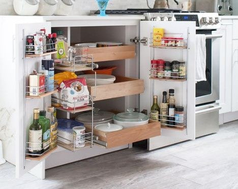 Kitchen Cabinet Ideas To Maximize Storage Space