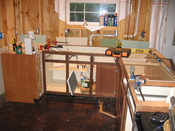 How do I remove my Kitchen Cabinets?