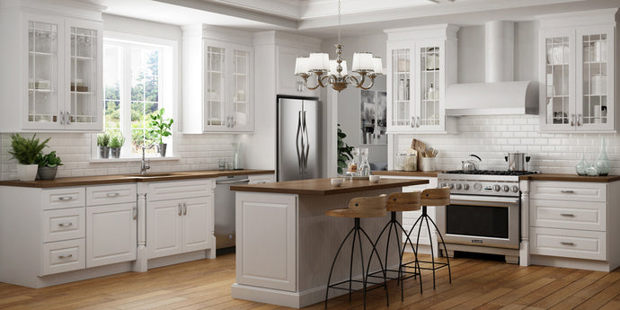 5 Ways to Make White Cabinets Work in a Small Kitchen