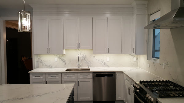 Fashion White Kitchen Cabinets