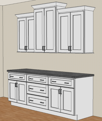How To Stagger Kitchen Cabinets Rta Wood Cabinets Rta Wood Cabinets