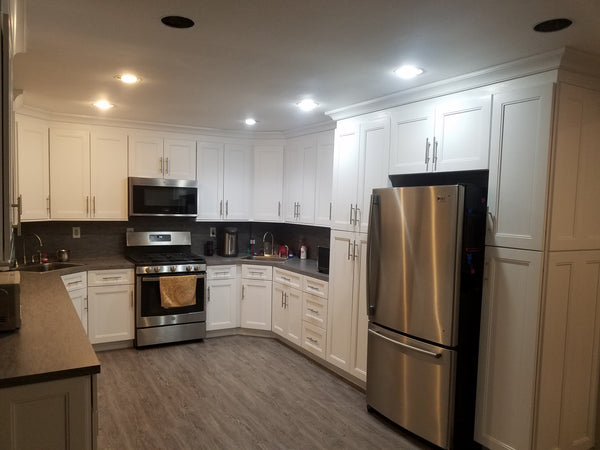 Fashion White Shaker Kitchen Cabinets