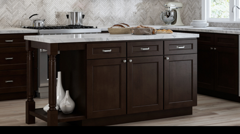 How To Design A Kitchen Island Rta Wood Cabinets