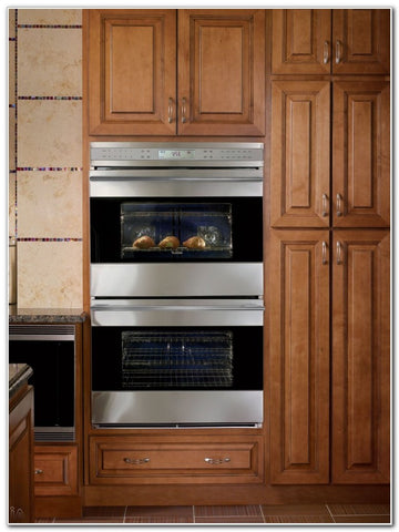 Most Companies Donu0027t Stock Double Oven Kitchen Cabinets. You Have To Get A  Standard Single Oven Cabinet And Modify It, Its A Pretty Easy Fix.