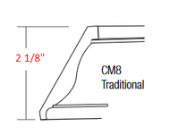 KBR-CM8-T Branford RTA Crown Molding Traditional
