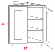 FB22-BECS24 Fashion Dove Angle Base Kitchen Cabinet