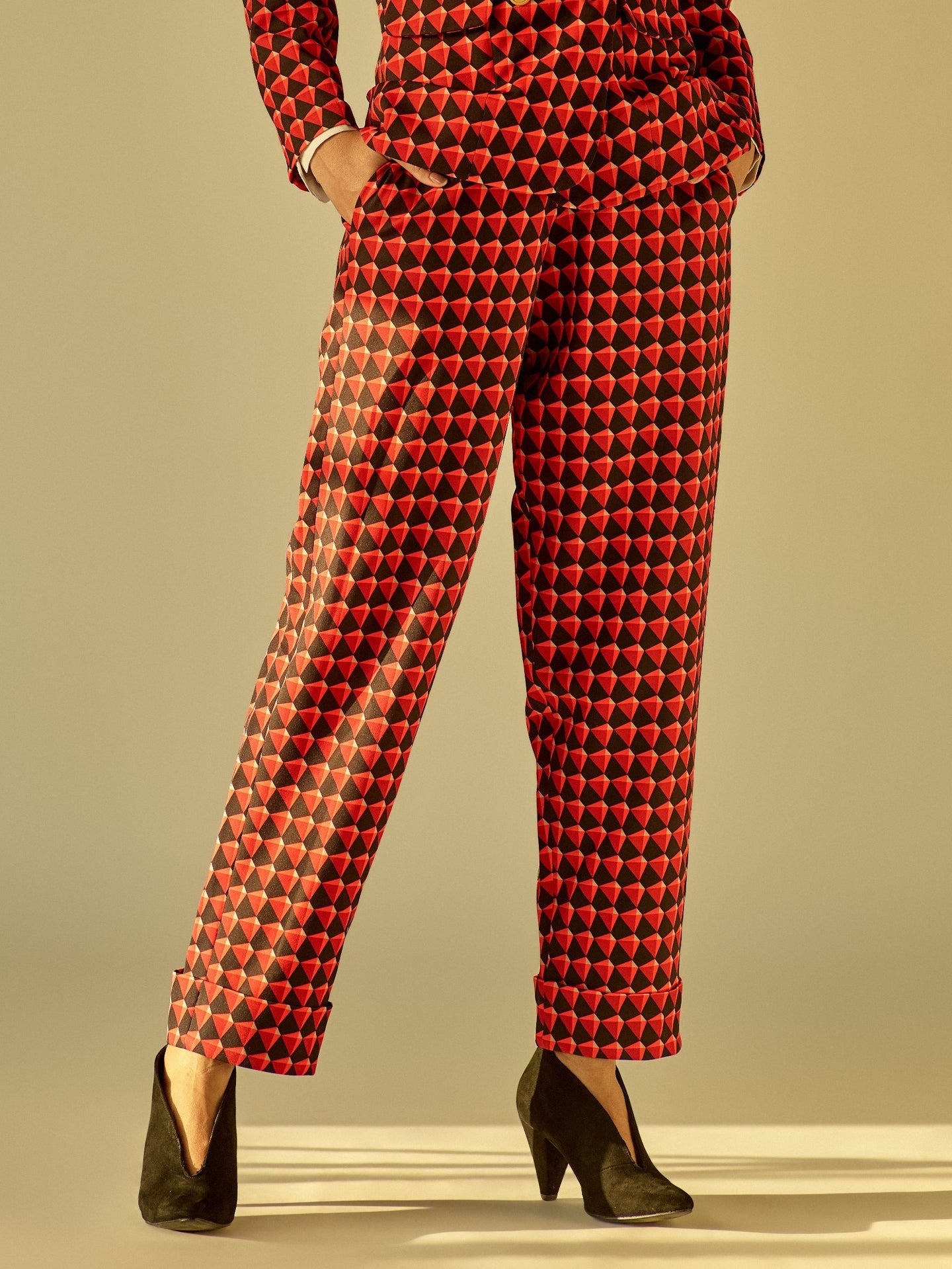 Art Deco Suit Trousers