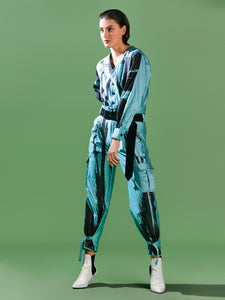 Brush Stroke Jumpsuit