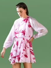 Load image into Gallery viewer, Pink Frill Dress