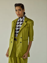 Load image into Gallery viewer, Green Pantsuit