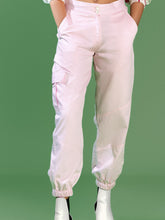 Load image into Gallery viewer, Pink Cotton Joggers