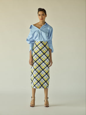 Shirt and Pencil Skirt Set