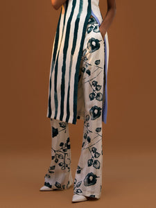 Retro Flared Trousers