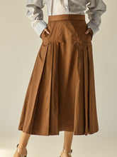 Load image into Gallery viewer, Vintage Midi Skirt