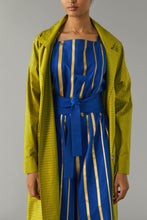 Load image into Gallery viewer, Gold Striped Citron Jacket