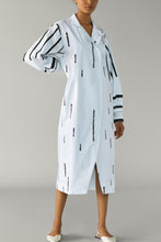 Load image into Gallery viewer, Dash Print Shirt Dress