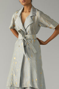Kin Gin Trench Top