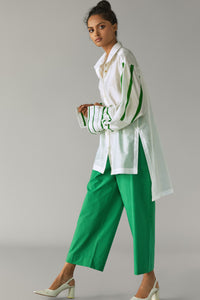 Kelly Green Cotton Pants