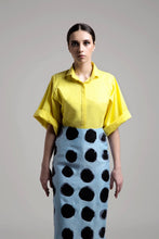 Load image into Gallery viewer, Polka Dot Pencil Skirt