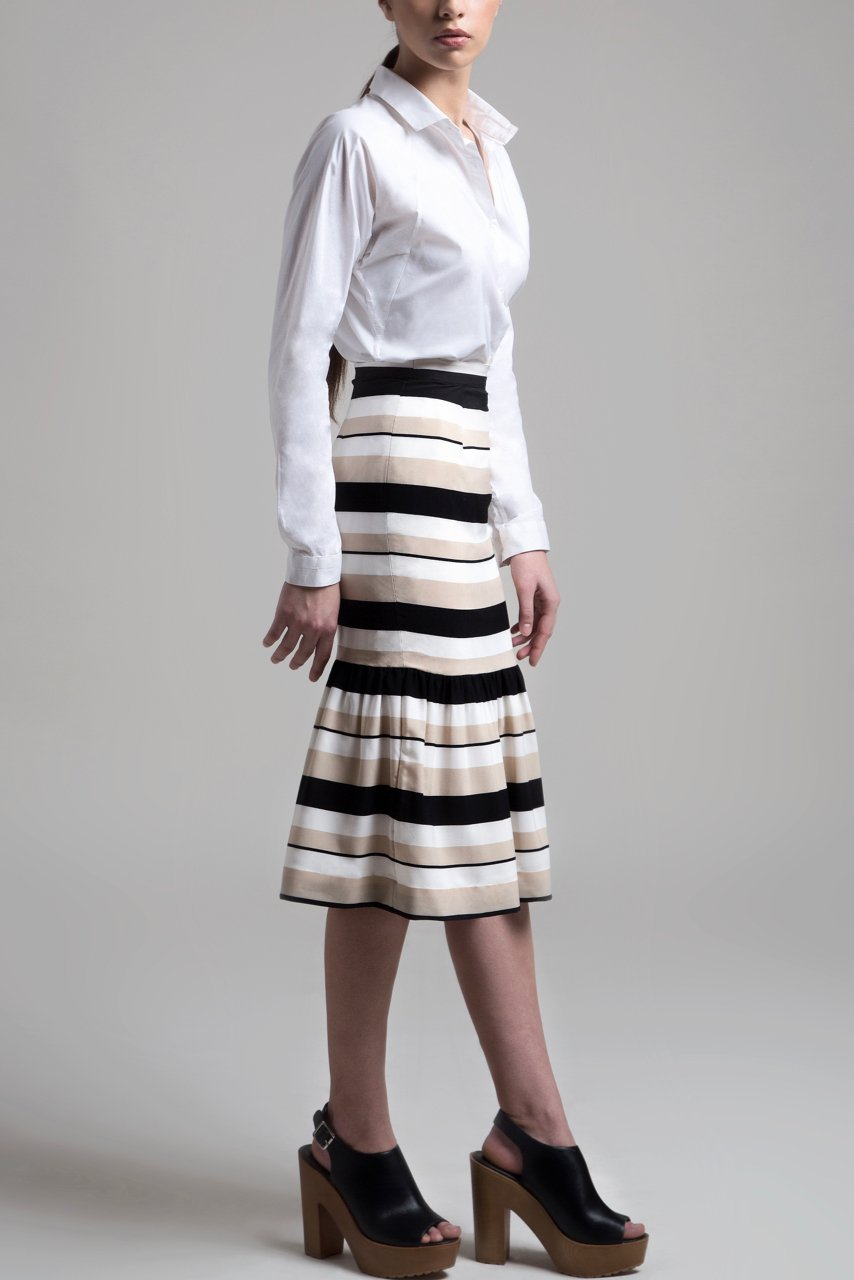 Mary Jane Pleated Skirt