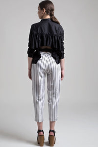 Relaxed Front Pleat Trousers