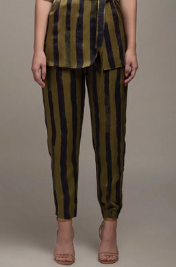 Tailored Striped Trousers