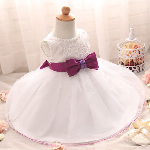 Baby dress wedding party idea #2