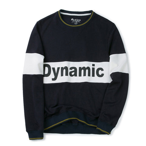 Men - Navy Blue With Text